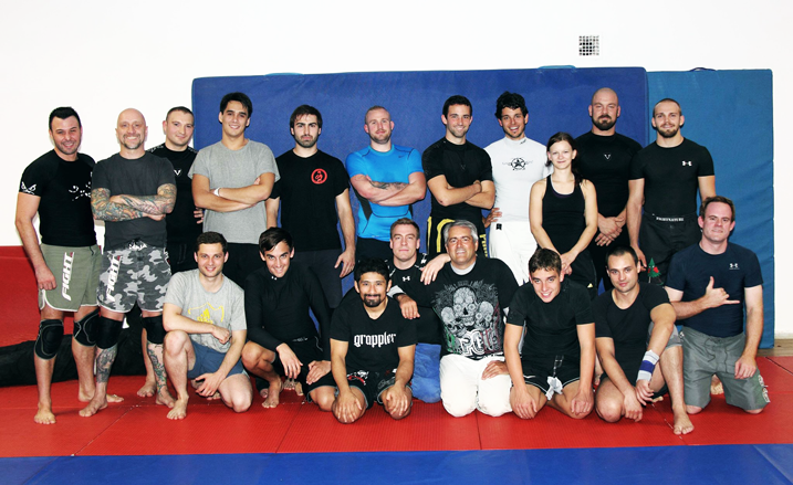 Seminario de Jiu Jitsu impartido por el Guatemalteco Luis Ciraiz en Alemania